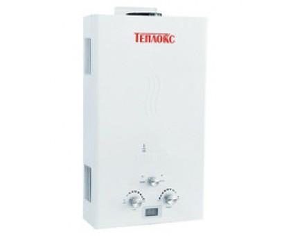 Газовый водонагреватель ТЕПЛОКС ГПВ-12-Б 12л Белый (Мощн. 24 кВт, расход 12л/мин)