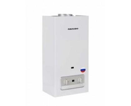 Газовый водонагреватель Mizudo ВПГ3-11 11л. бел (11л/мин, 22кВт, европейского типа, 2 года гарантии)