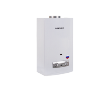 Газовый водонагреватель Mizudo ВПГ2-14ММ 11л. белый (11л/мин, 28кВт,евр.типа, диспл., 2 года гар)