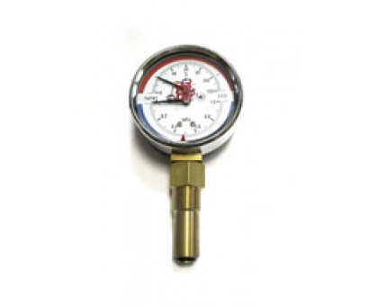 "Термоманометр ТМТБ-31Р Dy80 с нижним подключением 1/2"", 10 бар (0-1,0 МPа) 0-120 (ТМТБ-31Р)"