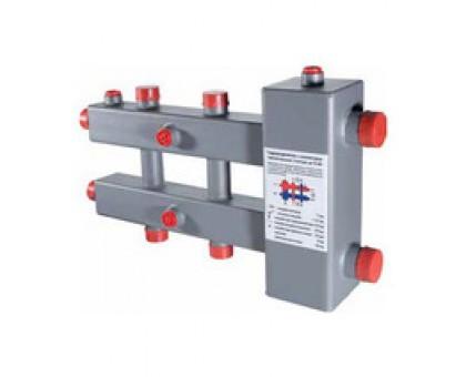 Гидроразделитель с колл., гориз., 3 контура, до 70 кВт VTc.100.SH.070603