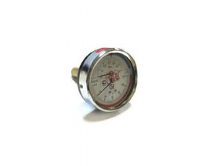 "Термоманометр ТМТБ-31Т Dy80 с ЗАДНИМ подключением 1/2"", 6 бар (0-0,6 МPа) 0-120 (ТМТБ-31Т)"