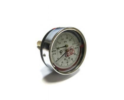 "Термоманометр ТМТБ-31Т Dy80 с ЗАДНИМ подключением 1/2"", 10 бар (0-1,0 МPа) 0-120 (ТМТБ-31Т)"