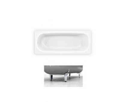 Ванна стал. EUROPA 160 х 70 x 38 (ножки с болтом 2.5 мм), (B60E22001) BLB, Португалия