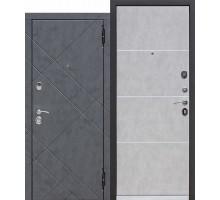 Дверь входная МДФ Бруклин 9см Бетон пепельный 860 х 2050мм
