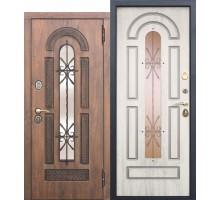 Дверь входная МДФ Vikont 9,5см Сосна белая 860 х 2050мм