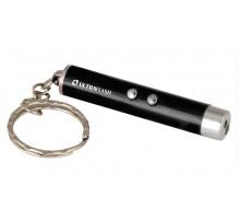 Фонарь Ultraflash LED30L 1LED + лазерная указка