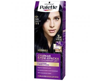 Краска для волос PALETТ С1 Иссиня-черный