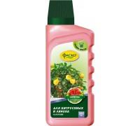 """Удобрение жидкое """"Цветочное счастье"""" для цитрусовых и лимона 285мл"""