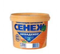 Сенеж АКВАДЕКОР дуб 2,5кг
