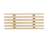 Решетка деревянная на ванну 28х70см