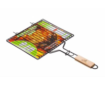 "Решетка-гриль ""ПИКНИК"" для мяса оксид. 340х286мм"