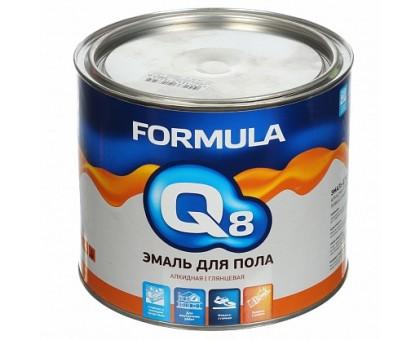 Эмаль ПФ-266 FORMULA Q8 КРАСНО-КОРИЧНЕВАЯ 1,9кг