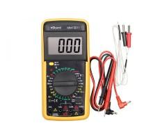 Мультиметр Sturm изм: напряжение, ток, сопротивление, температура, емкость; питание 9V MM12011