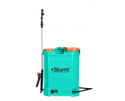 Опрыскиватель STURM GS8212B садовый ранцевый аккумуляторный 12л