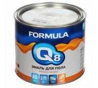 Эмаль ПФ-266 FORMULA Q8  ЖЕЛТО-КОРИЧНЕВАЯ 1,9кг
