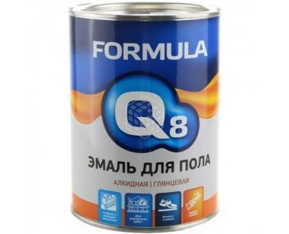 Эмаль ПФ-266 FORMULA Q8 КРАСНО-КОРИЧНЕВАЯ 0,9кг