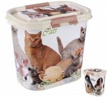 Контейнер Cats/Dog с замком 10л