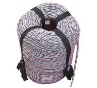 Шнур вязаный полипропиленовый с сердечником цветной 8,0мм (200м) 23ктекс, 140кгс
