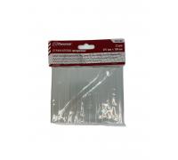 Стержни клеевые (прозрачные) 11мм х 100мм, Политех 12шт