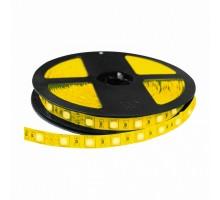Лента светодиодная LED SMD3528 5,0м 8мм IP23 60LED/м 12V желтая