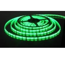 Лента светодиодная LED SMD3528 5,0м 8мм IP23 60LED/м 12V зеленая