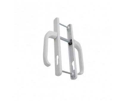 Ручка для пластиковых дверей белый 25/85 мм