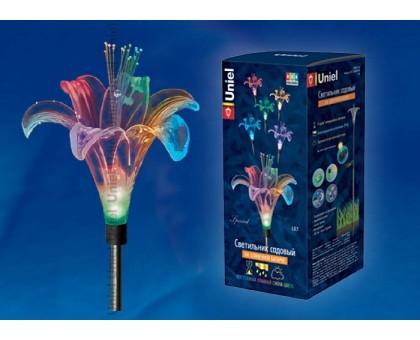 Светильник садовый на солнечной батарее Lily Special USL-S-104/MT810