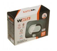 Прожектор светодиодный WOLTA 10W с датчиком движения 5500K IP65