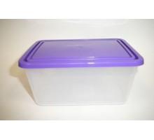 Емкость д/продуктов прямоуг. 0,8л Фиолетовый 133683