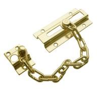 Защелка дверная с цепочкой KL-8206 PB (золото)