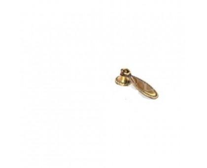 Ручка кнопка мебельная KL-343 PB (золото)