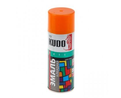 """Краска аэрозоль """"KUDO"""" оранжевая 520мл KU-1019 купить"""