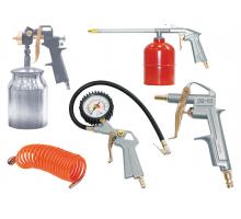 Набор пневмоинструментов FUBAG к/р с нижним бачком (5 предметов)