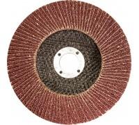 Круг лепестковый торцевой 125х22,2 зерно №40
