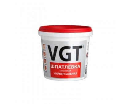 """Шпаклевка """"ВГТ"""" акриловая для внутренних работ 1,7кг купить"""