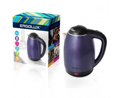 Чайник электр. ERGOLUX ELX-KS02-C49 сине-черный 1,8л 1500-2300Вт