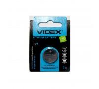 Батарейка VIDEX Lithium CR2032 1BP