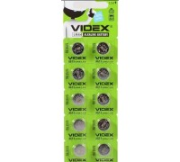 Батарейка VIDEX AG13 357 LR44 10BP