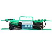 Удлинитель на рамке UR-1g-20m c 1 евророзеткой ( б/з )  20м