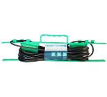 Удлинитель на рамке UR-1g-30m c 1 евророзеткой ( б/з ) 30м