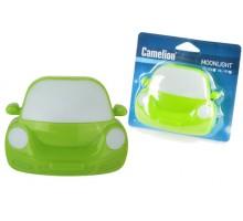 """Ночник Camelion """"Машинка"""" LED NL-197 зеленая 220В"""