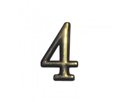 Номерок дверной №4 (большой) KL-91-4