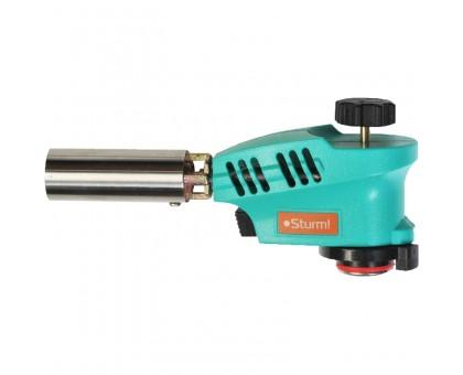 Горелка газовая с пьезоподжигом, регулятором пламени, увеличенная мощность Sturm 5015-KL-03