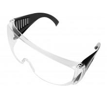 Очки защитные прозрачные с дужками STURM