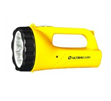 Фонарь аккум. Ultraflash LED3816SM 220В желтый 9LED, 2 режима, SLA