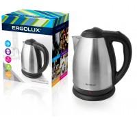 Чайник электрический ERGOLUX ELX-KS01-C72 1,8л нерж.сталь матово-черный