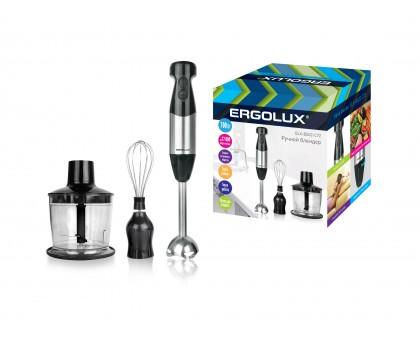 Блендер электрический ERGOLUX ELX-BS02-C72 700Вт серебристо-черный купить