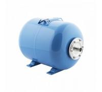 Гидроаккумулятор 50 Г горизонтальный (стальной фланец, синий) СТК