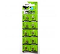 Батарейка VIDEX AG4 (377,626) 10BP